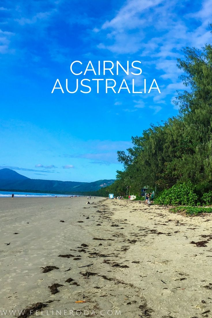 Cairns in Australia is one of the biggest city in Queensland. This place is perfect for people who love to dive and nightlife.