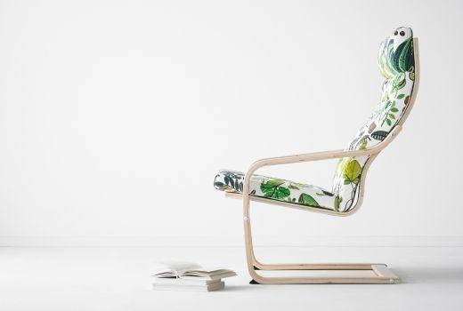IKEA Sessel und Relaxsessel wie z. B. POÄNG Sessel Birkenfurnier