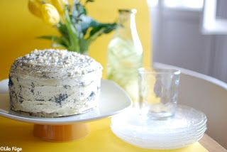 Mák és citromtorta fehércsokival | Lila Füge