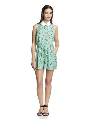 76% OFF Band of Outsiders Women's Elise Romper (Sea Green)