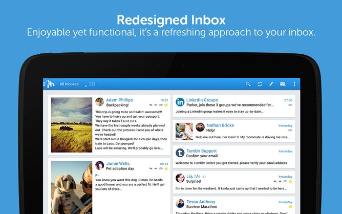 [Hands-On] Molto Is A Tablet-Only Email Client That Is Great For Newbies, And It's Attractive To Boot (October 2013)