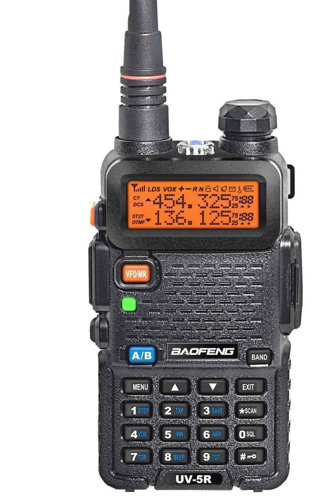 Radio Scanner Handheld Police Fire Transceiver EMS HAM Two Way Portable Antenna #BaoFeng