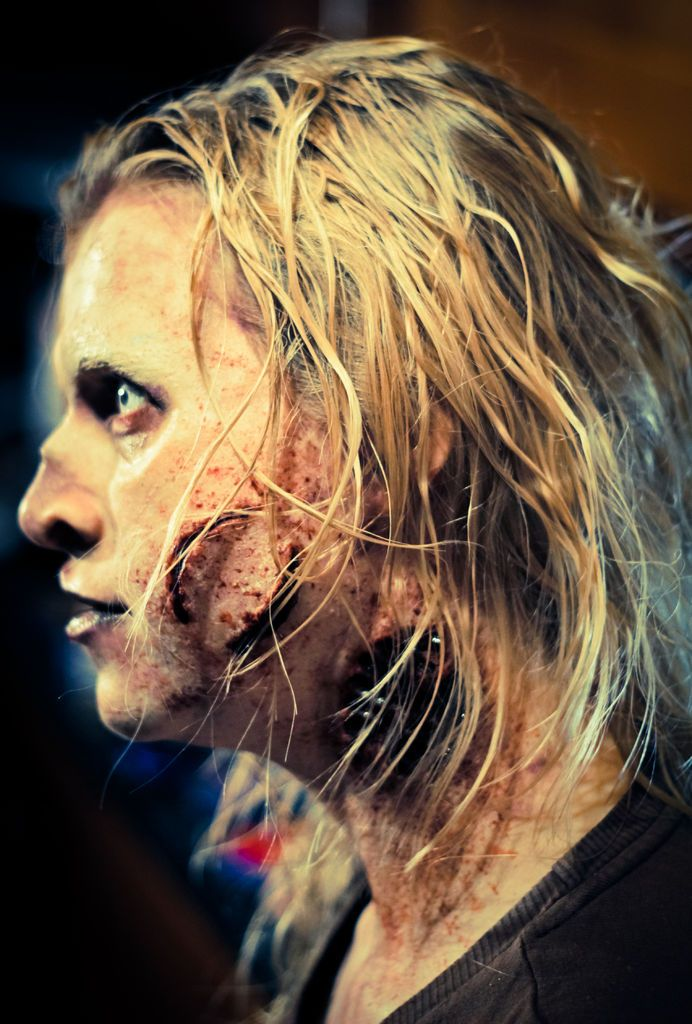 walking dead style zombie makeup tutorial how to