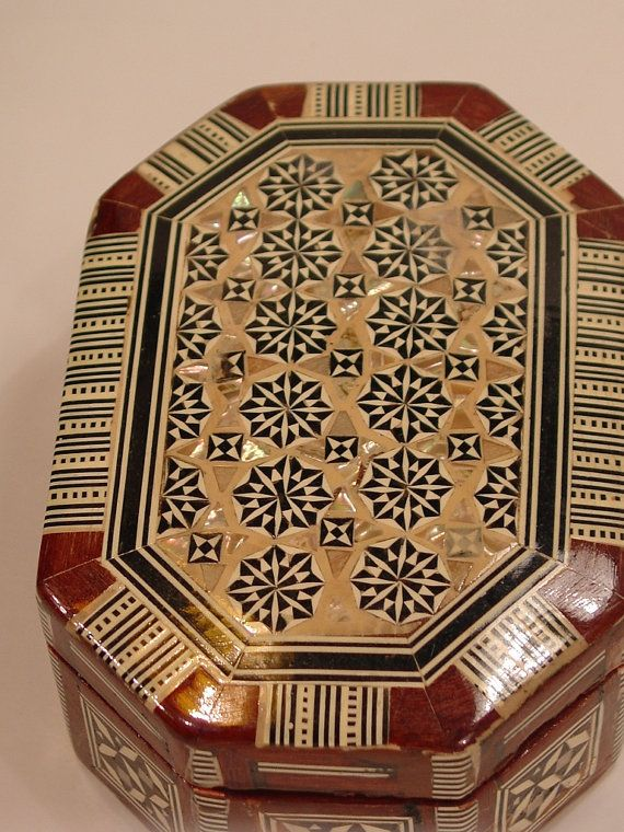 Jewelry Box Mother of Pearl Mosaic made in by myitaliandreams