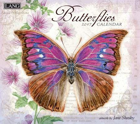 Butterflies 2017 Wall Calendar , 17991001898 | Lang