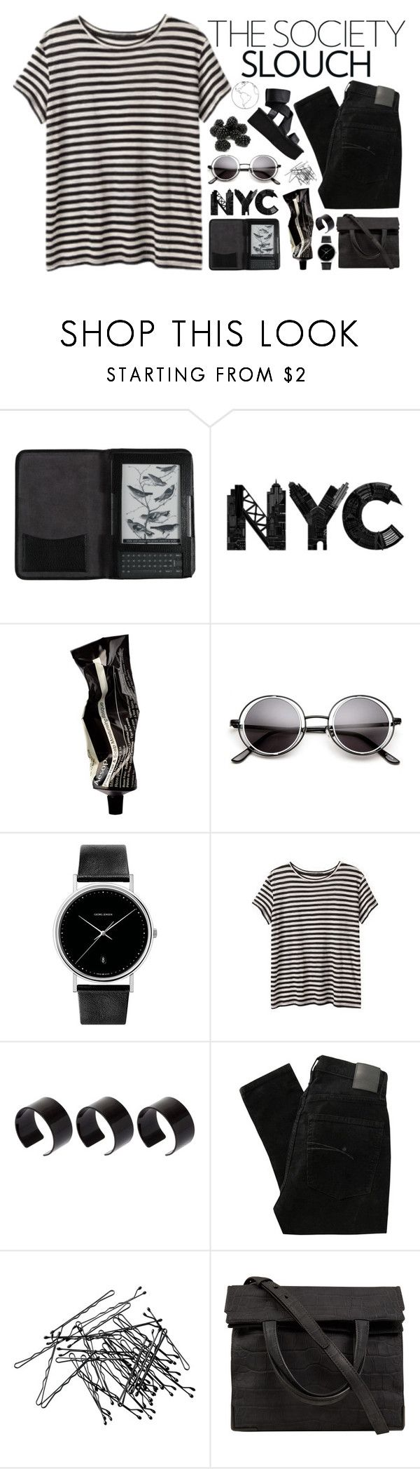 """Me:ya"" by han-n ❤ liked on Polyvore featuring Cole Haan, Aesop, Georg Jensen, ASOS, Nobody Denim, H&M, Alexander Wang and Cinzia Araia"