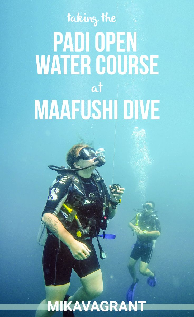 Taking the PADI Open Water at Maafushi Dive in the Maldives | Diving certification in the Maldives | Diving course in Maldives | Learn to dive in the Maldives