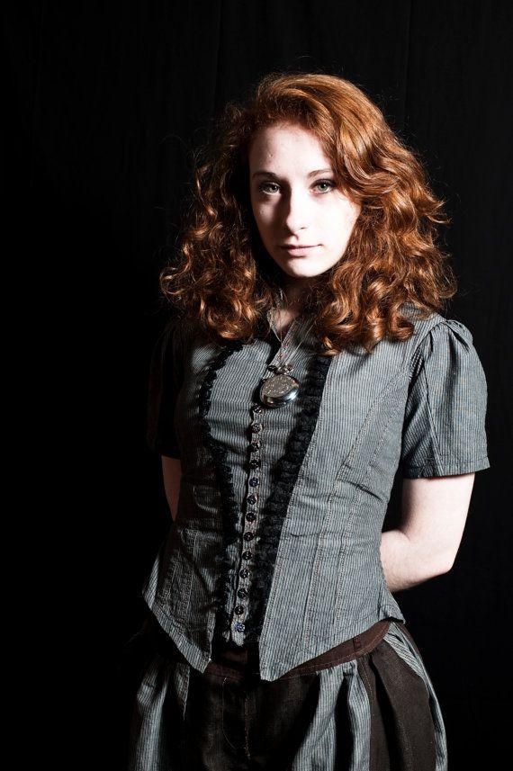 Shirt Charbon - steampunk - victorian sur Etsy, $68.97 CAD