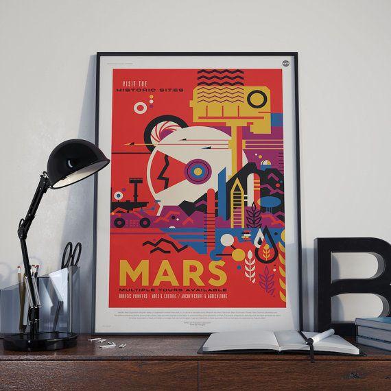 NASA Mars | ► Grafisch | Postersinhuis.nl