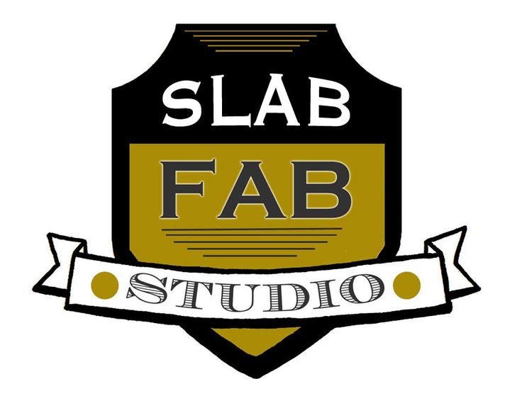 New rendition of the Slab Fab Studio Logo... in the works! Art by Tiffany Le Meaux of Freaks and Geeks Tattoo Sideshow Asheville, NC!Geek Tattoo