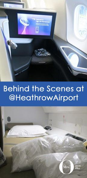 """I'm no stranger to Heathrow Airport. I'm a """"Heathrower"""" and, more specifically, a """"T-Fiver"""", and I may even be a little bit in love with this airport. So when Heathrow's team invited yours truly for a day behind the scenes, I couldn't resist!"""