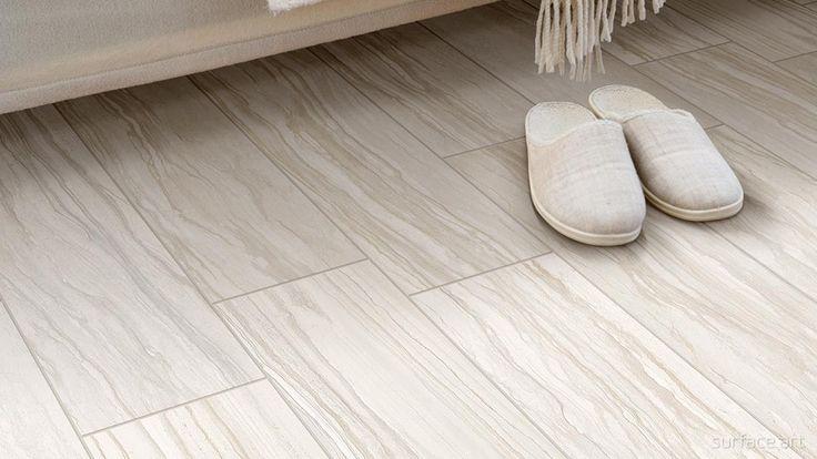 This Soft, Creamy, Natural Linear Look · Stone Tile FlooringDesign  RoomLiving Room InspirationPlankBedroom DesignsSweet ...