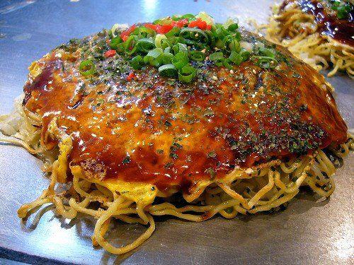 Hiroshima Okonomiyaki on Pinterest | Okonomiyaki Recipe, Okonomiyaki ...