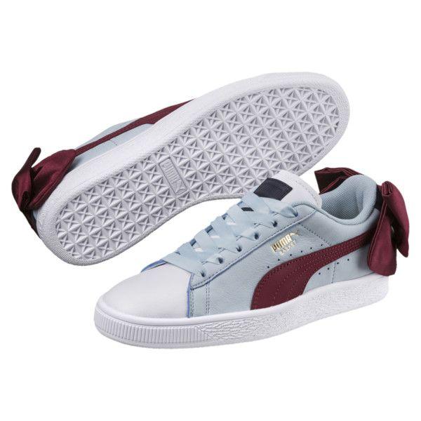 finest selection c0a0b b4a4e Basket Bow New School Women's Sneakers | Sneaker Love ...