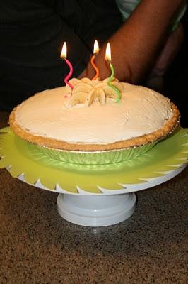 Lion's House Banana Cream Pie: Lion Houses, Happy Birthday, Houses Bananas