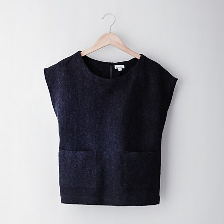 steven alan ABILENE TOP, wool vest #minimalist #fashion