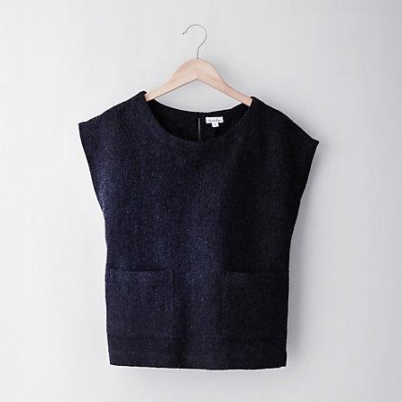 steven alan ABILENE TOP, wool vest #minimalist #fashion