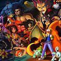 Hola esta es una comunidad de batallas Pokemon con gusto te derrotare ;D