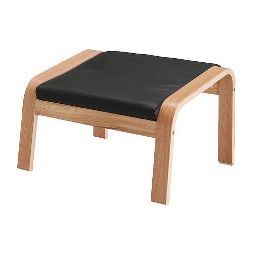 POÄNG Taburet IKEA Blødt, slidstærkt læder, der er nemt at vedligeholde og bliver smukkere med årene.