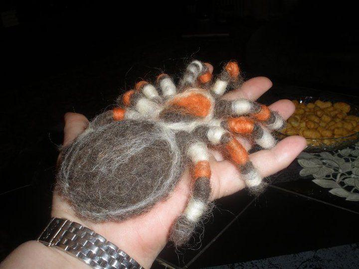 Pavouček z filcu