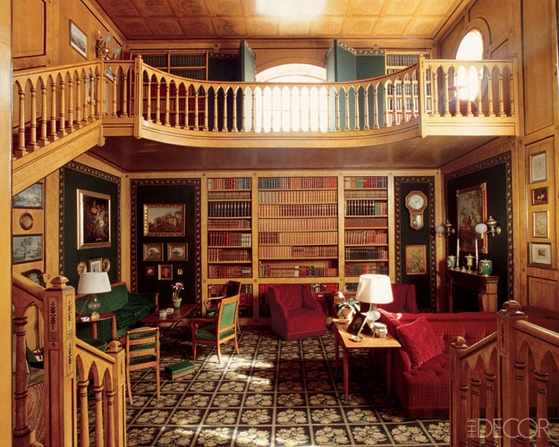 Dream home office library sick rooms pinterest for The balcony book