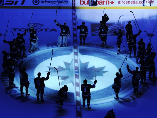 Jets Return...Winnipeg loves the new team and the boys played hard for the home town fans. Storybook year.
