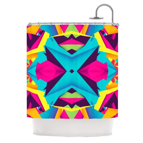 """Danny Ivan """"The Youth"""" Shower Curtain 