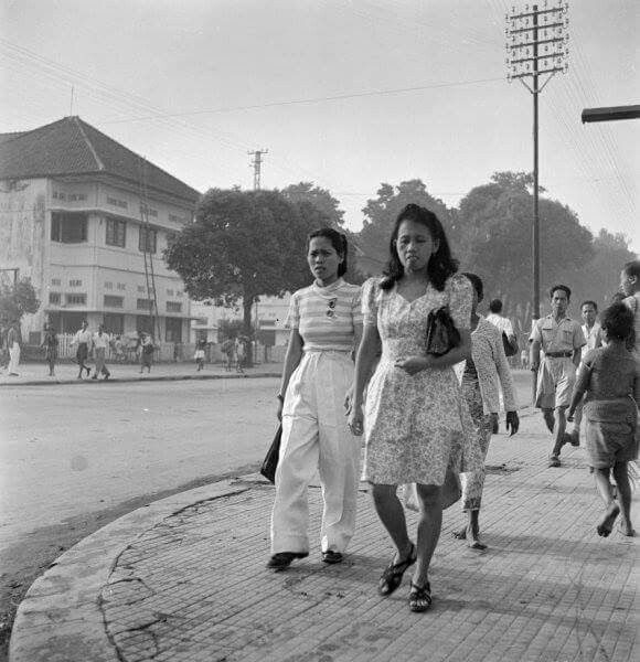 Trotoar Malioboro, 1948