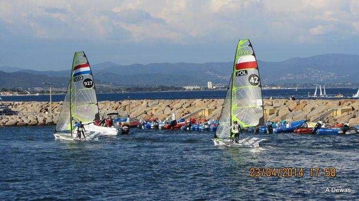 Hyeres and regatta
