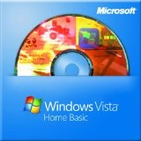 Microsoft Windows Vista Home Basic 64-bit for System Builders - 3 pack [DVD] [Old Version] (DVD-ROM)By Microsoft Software