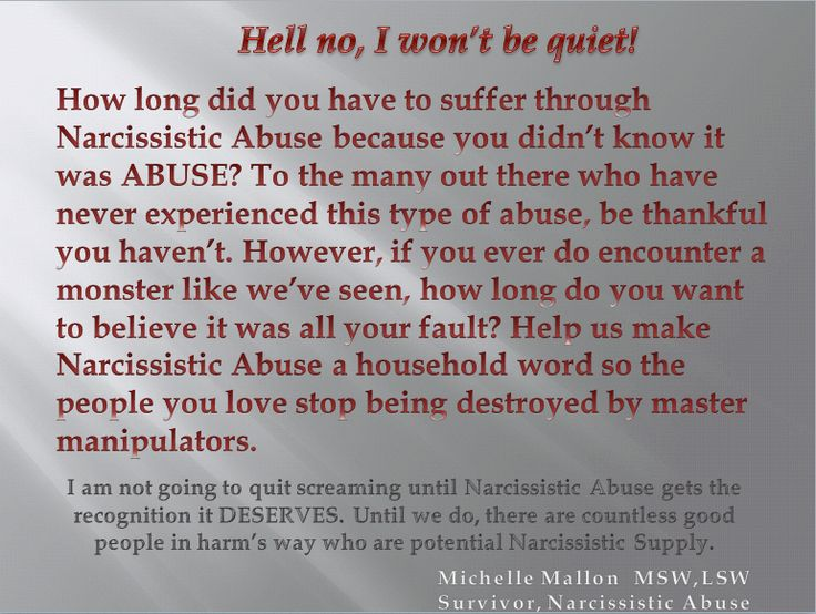 Narcissistic Abuse Recovery. Too many mental health professionals don't know anything about it. I's important to spread the word.