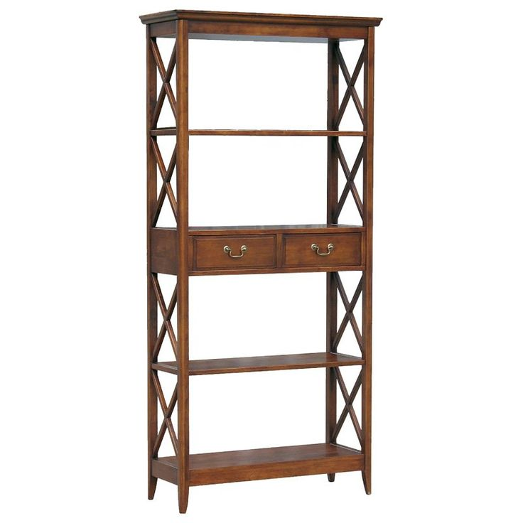 Have to have it. Wayborn Eiffel Solid Wood Bookshelf with Drawer $587.99