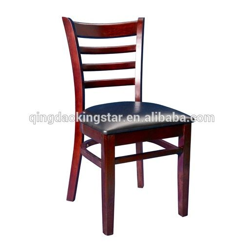 KS-W100 ladder back cheap wood restaurant chair