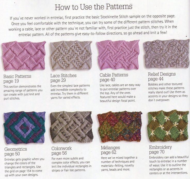 273 Best Entrelac Knitting Kontstrikk Images On Pinterest