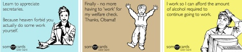 7 confessions of highly ineffective workers, according to Someecards
