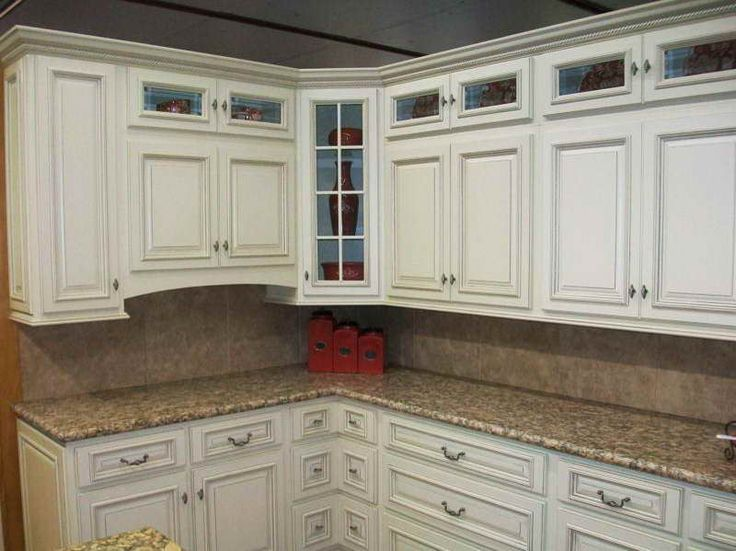 75 best superior antique white kitchen cabinets images on for Antique painting kitchen cabinets ideas