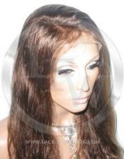 Bodywave Lace Front Wig Human Hair 16 Inch Color 4