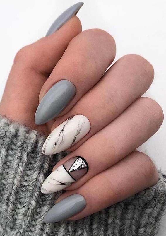 Unique Nail Designs For Winter Season In 2019 Nail Designs Unique Stylish Nails Art Stylish Nails