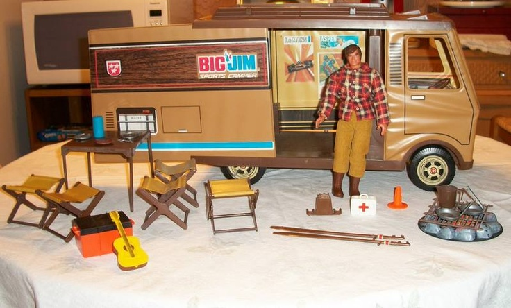 Big Jim - toys from the 70s.