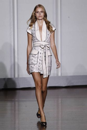 L'Wren Scott - NY Fashion Week  Jani Gabriel