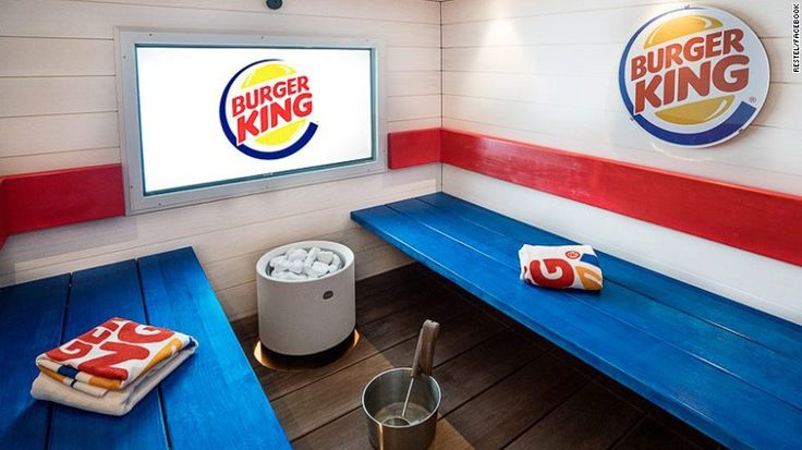 Truth: A Burger King in Finland Now Features a Sauna