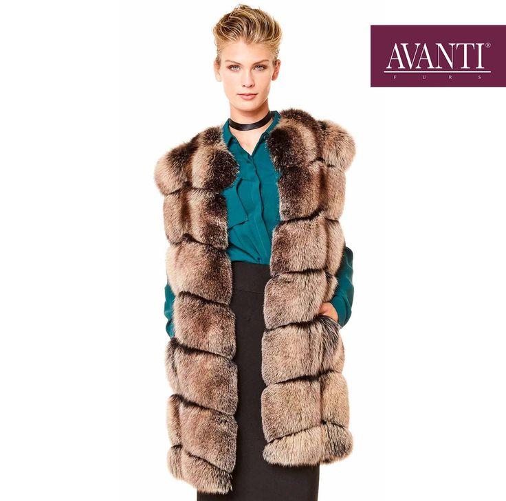 AVANTI FURS - MODEL: 16-3 FOX VEST   #avantifurs #fur #fashion #fox #luxury #musthave #мех #шуба #стиль #норка #зима #красота #мода #topfurexperts