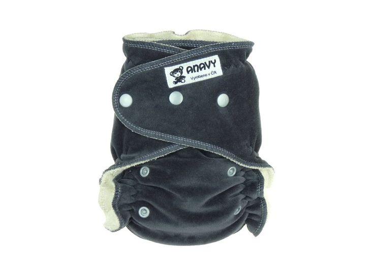 fitted - anavy 2014 (velluto di cotone) - tinta unita grigio