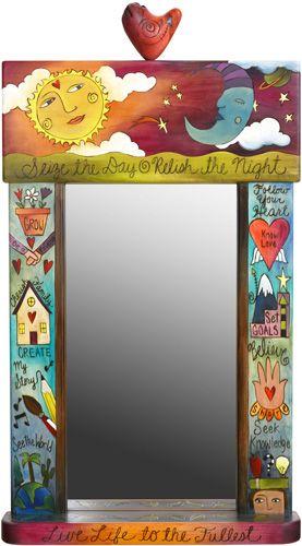 Large Mirror with Doodah