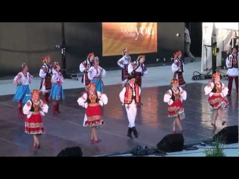 Bratstva (Ukrainian dance group I dance with) performing at Canada's National Ukrainian Festival 2011