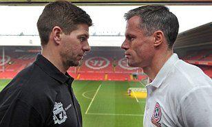 LIVERPOOL ALL-STAR GAME: Steven Gerrard XI take on Jamie Carragher XI