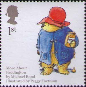 """Reino Unido - El Oso Paddington,es un personaje de ficción en la literatura infantil del Reino Unido. Apareció por primera vez en 1958 en el libro titulado """"Un oso llamado Paddington"""" del escritor inglés Michael Bond"""