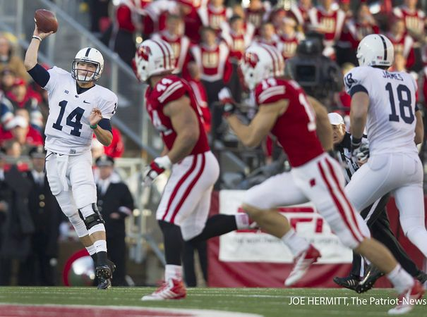 Christian Hackenberg's first semester of quarterback school ends with A on final exam | PennLive.com