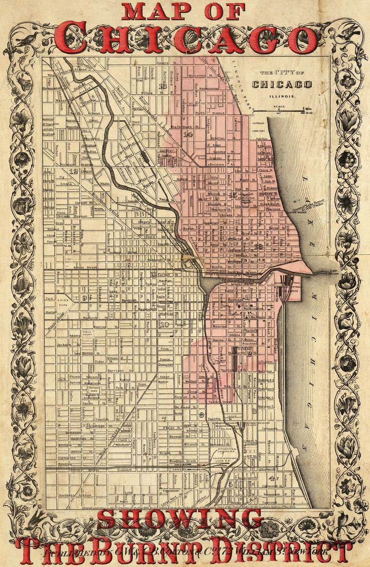Best Vintage Chicago Images On Pinterest - Chicago map murders