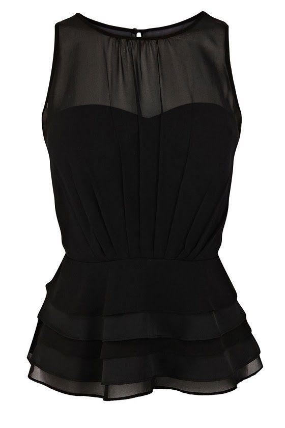 All Black Chiffon Party Dress http://www.turkishny.com/authors/138759-tuba-edman/138759-tuba-edman#.Urd3aHdajbU